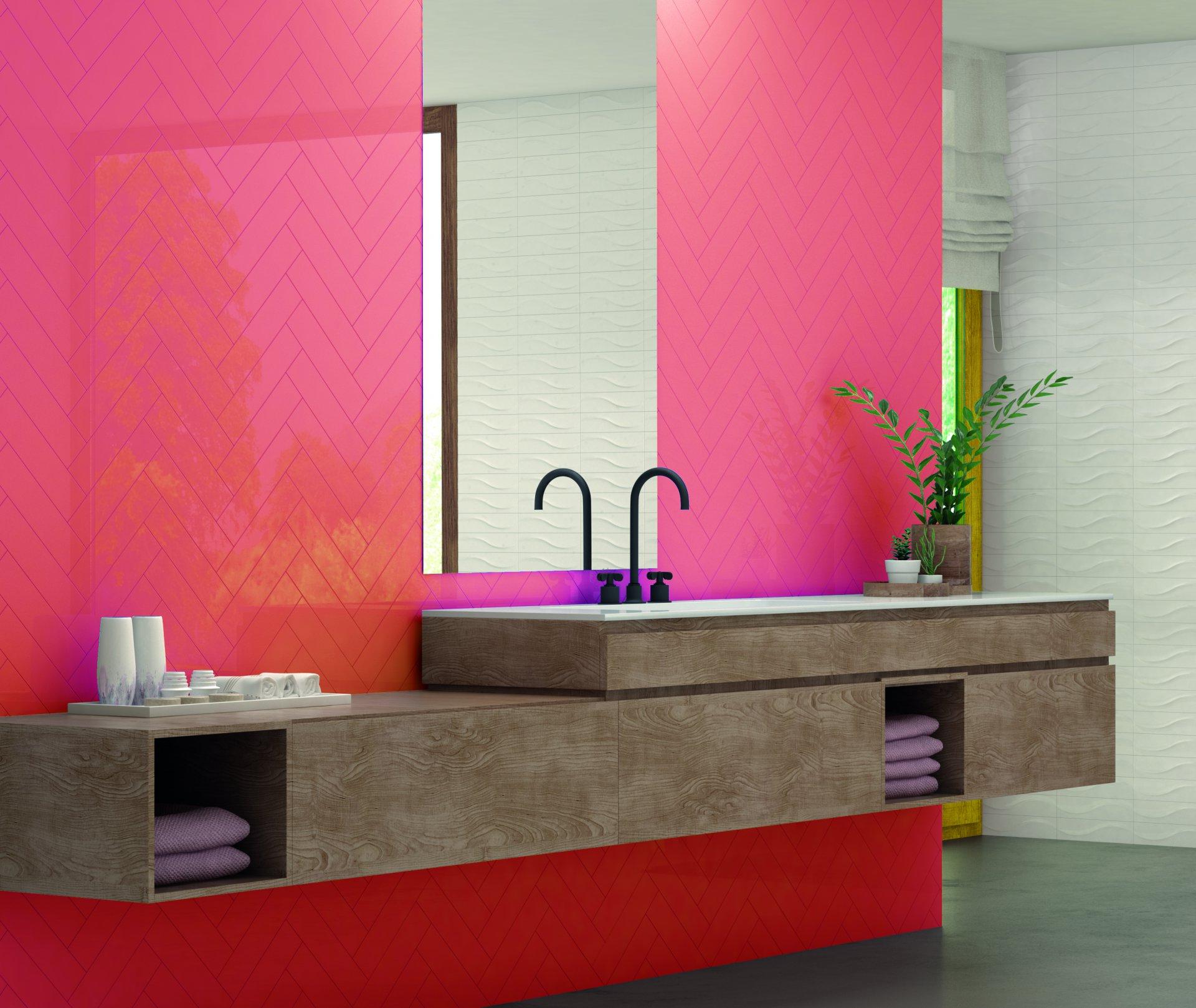3x12 Bellini Metro Rojo Glossy Wall Tile