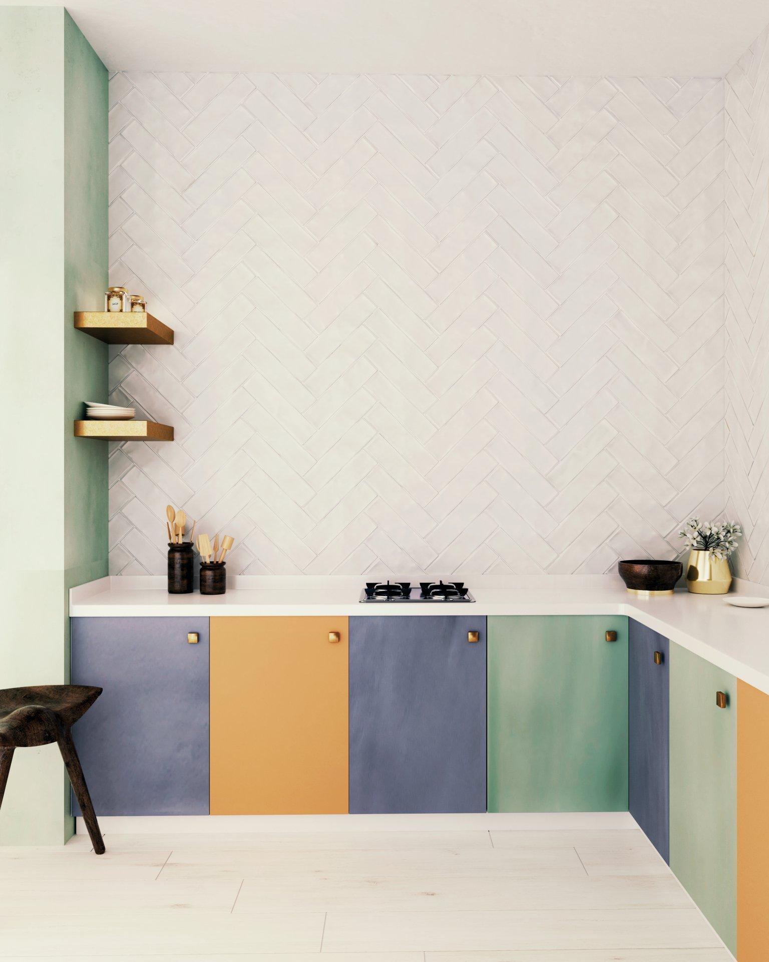 3x12 Chalk Blanco Ceramic Matte Wall Tile