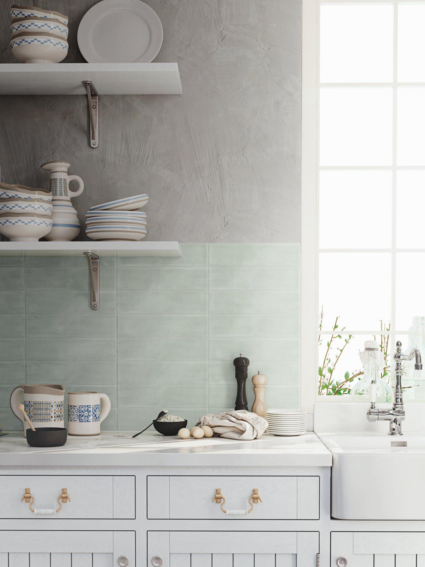 3x12 Chalk Lima Ceramic Matte Wall Tile