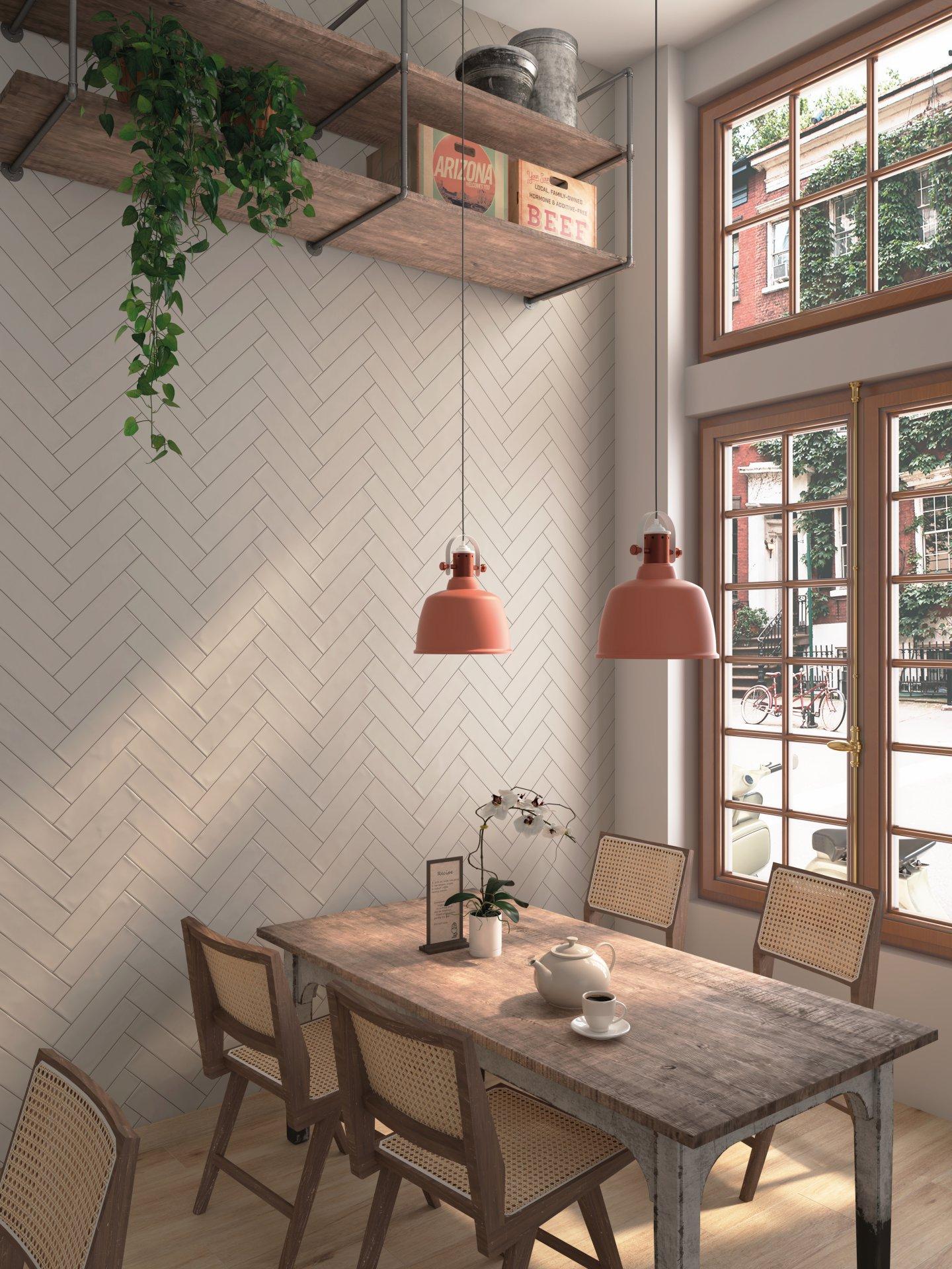 3x12 Chalk Tortola Ceramic Matte Wall Tile